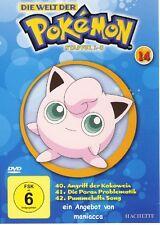DIE WELT DER POKEMON 14   1. Staffel / 40-42    DVD #ZZ   Pokémon