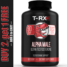 T-RX Testosterone Booster for Men More Muscle Mass, Strength, Stamina, Sex Drive