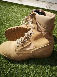 BRITISH ARMY BELLEVILLE DESERT BOOTS - USED BOOTS - SIZE UK 10 REG WIDTH