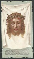 Holy card antique de la Santa Faz santino image pieuse estampa