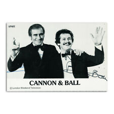 More details for cannon & ball - autograph - signed black and white photograph
