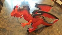 "Dragon I Toys 18"" Red Dragon Roars, Walks, Eyes Light Up, Head Rotates Very Cool"