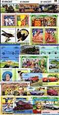 Saint Vincent 200 timbres différents
