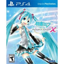 Ps4 Project Diva X NTSC USA PlayStation 4 Sony SEGA Hatsune Miku