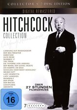 7 DVDs * ALFRED HITCHCOCK COLLECTION   # NEU OVP &