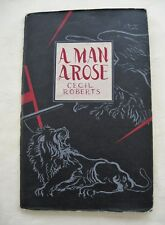Winston Churchill A Man Arose Cecil Roberts Poem on Churchill 1941 DJ