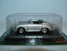 PORSCHE 356A SILVER  Die-cast Car Del Prado MIB 1/43