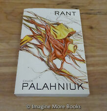 Rant by Chuck Palahniuk ~ Trade Paperback