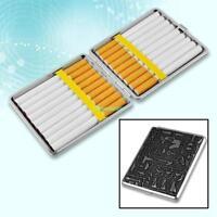 Silver Egyptian Cigarette Tobacco Case Figure Holder 4690371