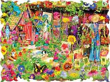 Beautiful Borders Collection The Scarecrow's Garden 750 piece puzzle