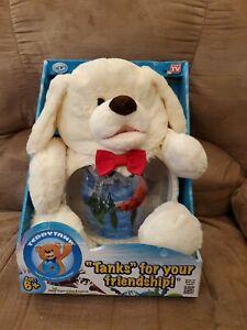 """Tanks"" for your friendship! Betta Plush Cute Dog BRAND NEW"