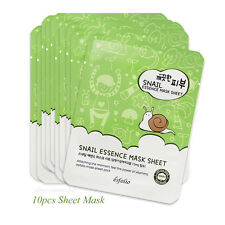 10pcs Esfolio Pure Skin Snail Essence Mask Sheet 25ml Korean Cosmetics