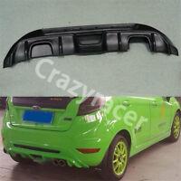Fiesta Rear Bumper Diffuser Spoiler for Ford Fiesta MK7 Hatcback 08-12 Unpainted