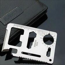 Multi Pocket Tools 11 in 1 Hunting Survival Camping Military Credit Card Knife