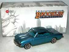 Brooklin BRK 139, 1967 Chevrolet Corvair Monza, Nantucket Blue Poly, 1/43