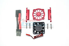Traxxas-Maxx-ALUMINUM MOTOR HEATSINK WITH COOLING FAN -9PC Set-Red