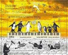 fsat 2018 taaf Southern Symphony music violon bird penguin piano ms1v mnh **