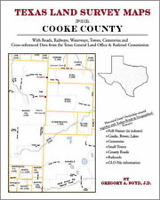 Cooke County Texas Land Survey Maps Genealogy History