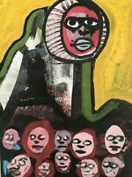 Hasworld Original,painting,signed,Pop Art,Impressionism,abstract Skull ,graffiti