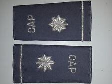 1 pares original EE. UU Civil Air Patrol teniente coronel hombro trabillas ejército