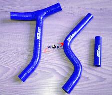 For YAMAHA YZF250 YZ250F 2010 2011 2012 2013 Silicone Y Radiator Hose 10 11 BLUE