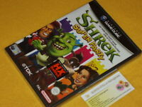SHREK SUPER PARTY NINTENDO GAME CUBE GC NUOVO NEW FACTORY SEALED Ver. PAL RARE !