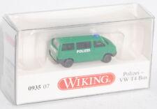 Wiking 093507 Polizei - VW T4 Transporter Kombi, N-Spur, 1:160