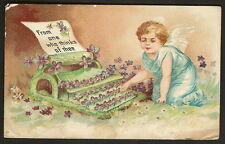 Post Card - From One Who Thinks of Thee - circa 1907