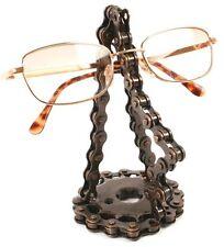 CATENA BICI occhiali occhiali spec Stand supporto metallo riciclato Commercio Equo Nuovo!
