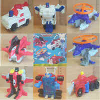 McDonalds Happy Meal Toy 2003 Transformers Armada Model Plastic Toys - Various