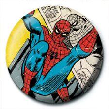 Marvel Spider Man Comic merchandise Anteck Button pyramid Neu NEW