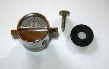 Manometer für Starklichtlampen HK500, mit Dichtung und Schraube, 2 / 4 bar