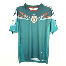 Dry Mens Mexico 2014 World Cup Brasil Home Football Soccer Shirt Size S-M?