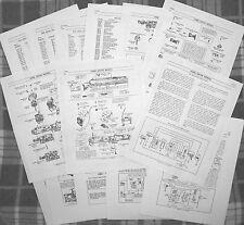 Lionel 1950-69 2023,31,32,33,41 Alco AA,T Units  Locomotive  Service Manual