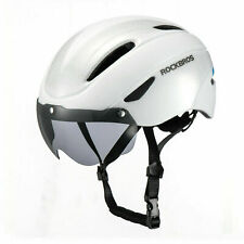 ROCKBROS Cycling Helmet Bicycle Ultralight Helmet with Magnetic Goggle 57-62cm