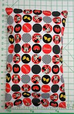 Minnie Mouse in circles - Small Pillow Case & Travel / Toddler Pillow