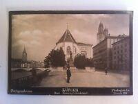 Foto Suisse Zurigo Das Zwinglidenkmal 1897 Photoglob Co