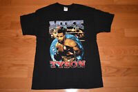 90s Mike Tyson Rap Tee VTG T Shirt Double Sided Hip Hop Bay Club Boxing