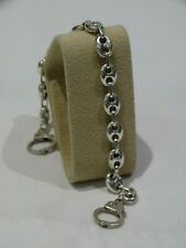 "Sterling Silver Handcuff Bracelet 8 1/2"""
