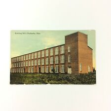 Chickasha Oklahoma OK Knitting Mill Postcard Divided Back Unposted 1912