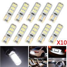 10x Xenon White T10 W5W 12SMD 2835 LED Canbus Turn Signal Light Bulb 6000K New