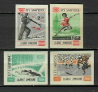 26949) ALBANIA 1964 MNH** Olympic Winter Games 4v Imperforated