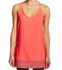 Abbigliamento sportivo da donna arancioni marca Nike senza maniche