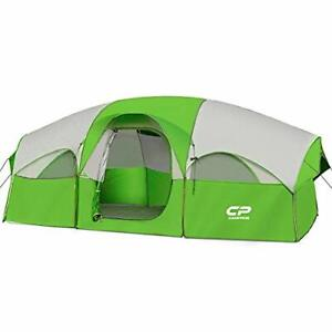 CAMPROS Tent-8-Person-Camping-Tents Waterproof Windproof Family Tent 5 Large ...