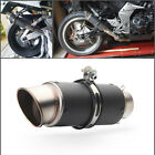 Motorcycle Motorbike 60mm Exhaust Rear Muffler Tail Throat Cover Universal Parts