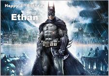 Batman The Dark Knight Birthday Card A5 Personalised own words