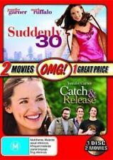 SUDDENLY 30 / CATCH & RELEASE Jennifer Garner DVD NEW