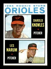 1964 Topps #418 Darold Knowles/Les Narum Rookie Stars EXMT/EXMT+ X1462733