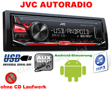 JVC KDX141 AUTORADIO MP3 USB AUX IN ANDROID STEUERUNG 4x50W TOP
