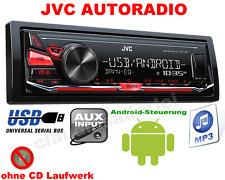 JVC KDX141 AUTORADIO MP3 USB AUX IN ANDROID STEUERUNG 4x50W TOP